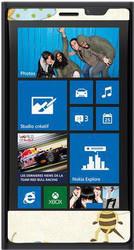 фото Наклейка для Nokia Lumia 920 Vinil-Koritsa Bugs