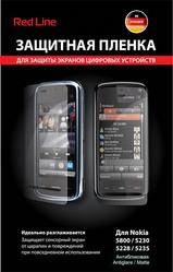 Защитная пленка для Nokia 5228 Red Line матовая