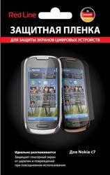Защитная пленка для Nokia C7 Red Line матовая