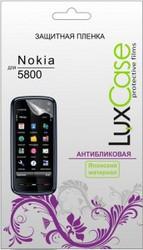 Защитная пленка для Nokia 5800 XpressMusic LuxCase антибликовая