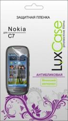 Защитная пленка для Nokia C7 LuxCase антибликовая