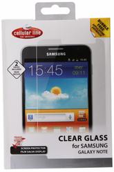 Защитная пленка для Samsung N7000 Galaxy Note Cellular Line SPNOTE