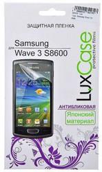 фото Защитная пленка для Samsung S8600 Wave 3 LuxCase антибликовая