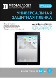 Фото защитной пленки Media Gadget Premium для экрана 7 дюймов (универсальная)
