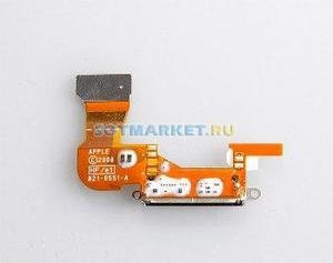 фото Шлейф для Apple iPhone 3G с разъемом зарядки