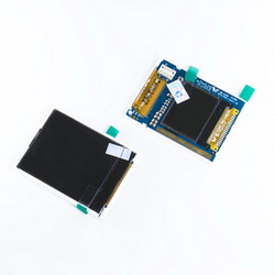 фото Дисплей для Samsung Z500 (модуль из 2 дисплеев)