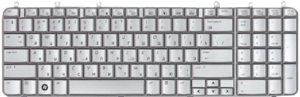 фото Клавиатура для HP Pavilion dv7-1000 Black