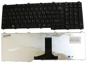 фото Клавиатура для Toshiba Satellite A500 Black
