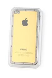 фото Задняя крышка для Apple iPhone 4 Metallik Slider Case