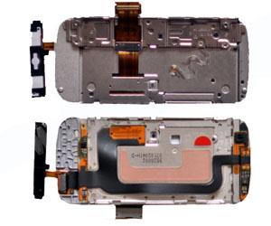 фото Шлейф для Nokia C6-00 с раздвижным механизмом и мембраной ORIGINAL