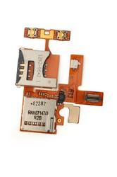фото Шлейф для Sony Ericsson W380i с разъемом под SIM карту и карту памяти