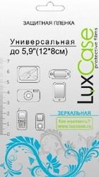 """фото Защитная пленка 5.9"""" LuxCase зеркальная"""