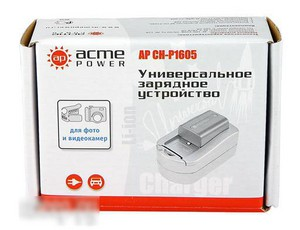 фото Универсальное зарядное устройство AcmePower AP CH-P1605