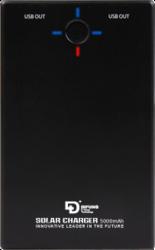фото Универсальное зарядное устройство на солнечных батареях DiFung D4-50S