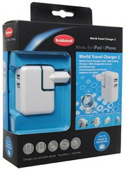 фото Зарядное устройство для Apple iPod nano 2G Hahnel Xtras USB World Travel Charger II