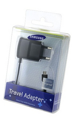 фото Зарядное устройство для Samsung Galaxy S Wi-Fi 4.0 ETA0U10EBECSTD ORIGINAL
