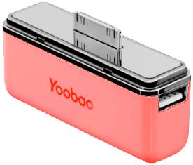 фото Аккумулятор для Apple iPod touch 4G внешний Yoobao Power Bank YB-615