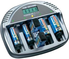 Зарядное устройство ANSMANN Powerline 5 LCD SotMarket.ru 2200.000