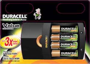 фото Комплект Duracell CEF 14 + 2 АКБ AA-1700 + 2 АКБ AA-750