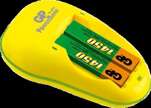 фото Комплект GP PB12GS145-BС2 для аккумуляторных батарей AA + 2 АКБ