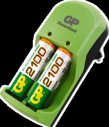 фото Комплект GP PB360GS210-UE2 для аккумуляторных батарей AA и AAA + 2 АКБ