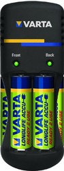 фото Комплект VARTA Easy Energy POCKET CHARGER + 4 АКБ AA-2500